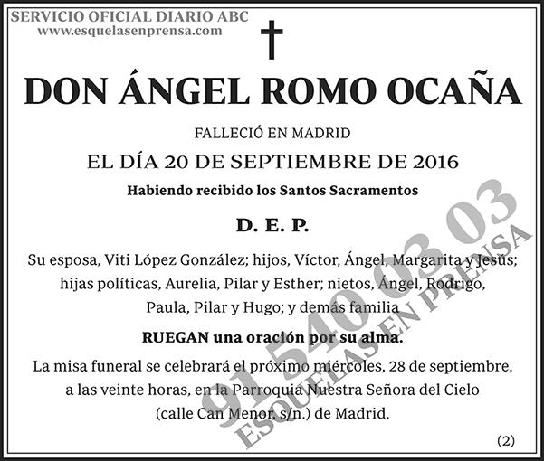 Ángel Romo Ocaña